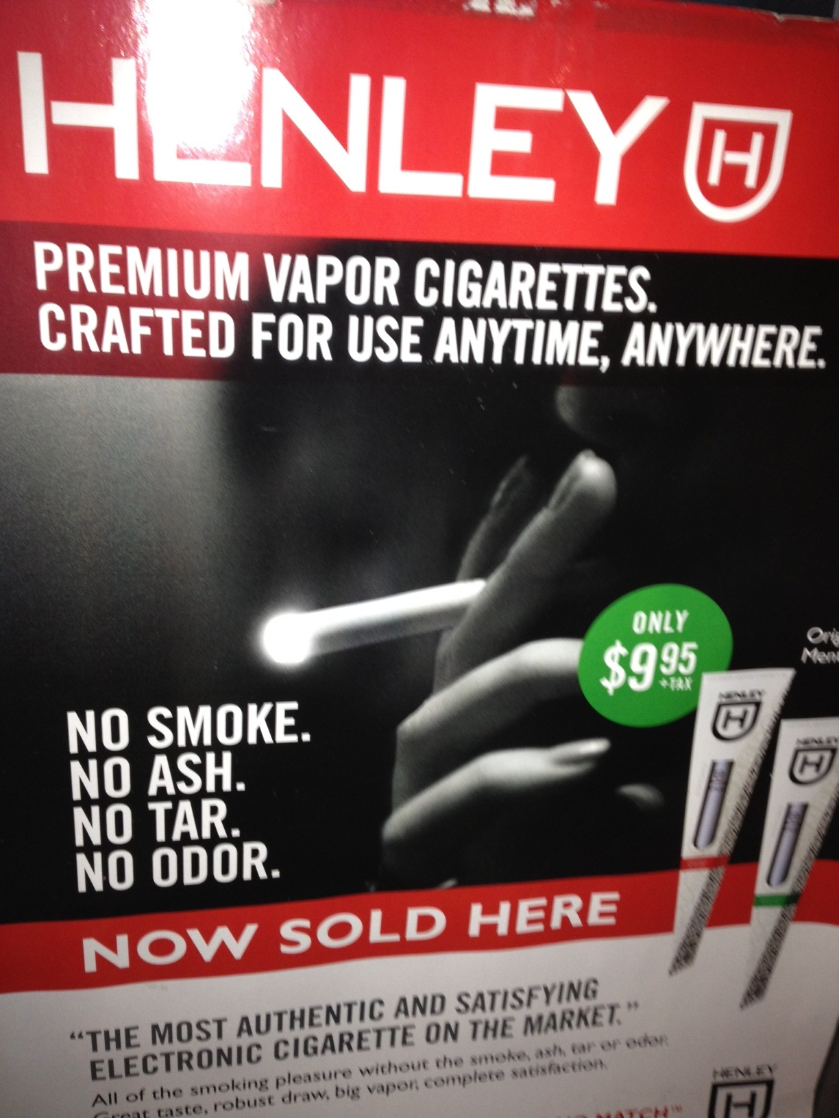 Ads for Electronic Cigarettes are Everywhere