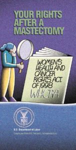 Women's Health and Cancer Rights Act of 1998