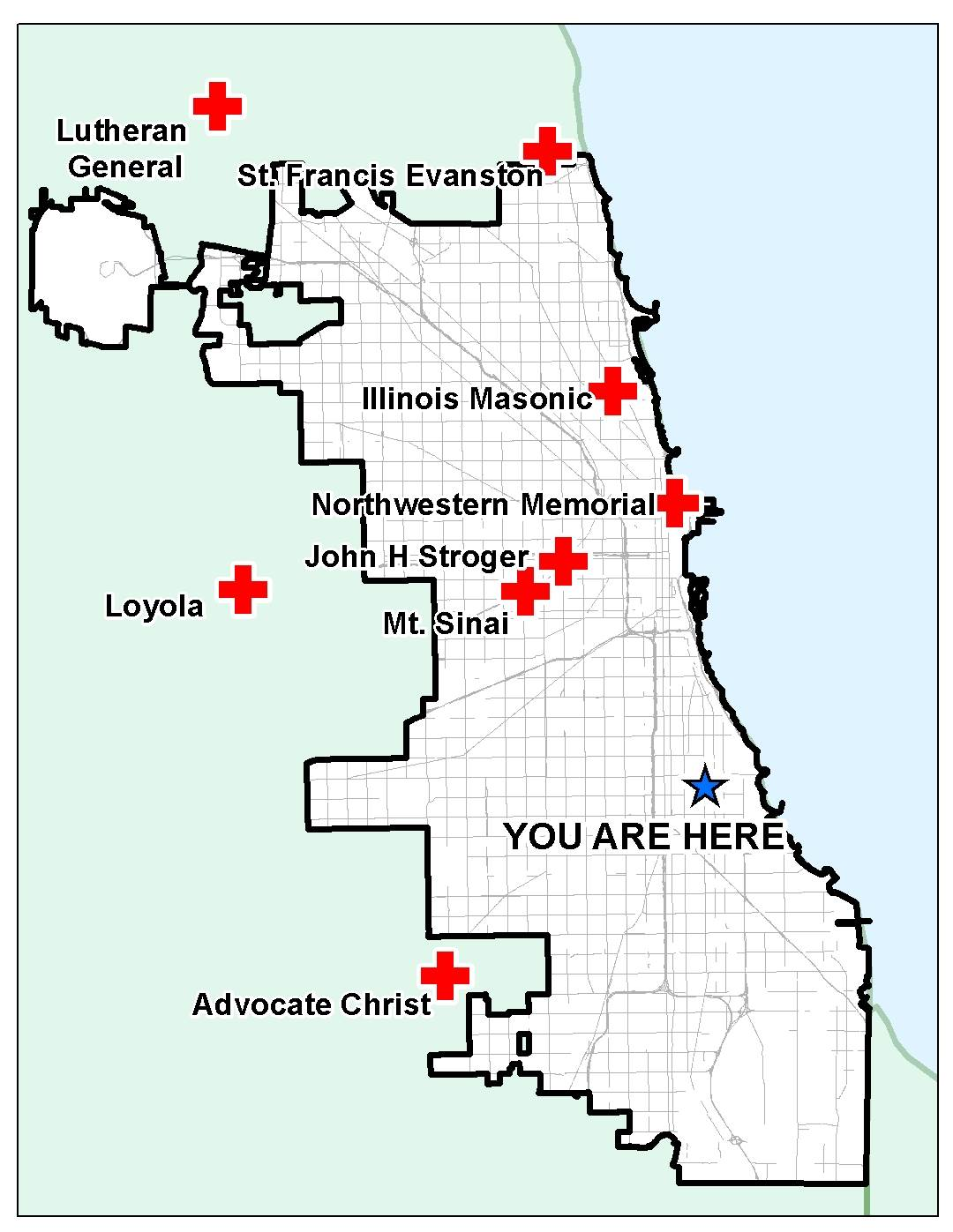 As Chicagoans Vote For Mayor A Trauma Center AndA Presidential - Chicago gang map south side